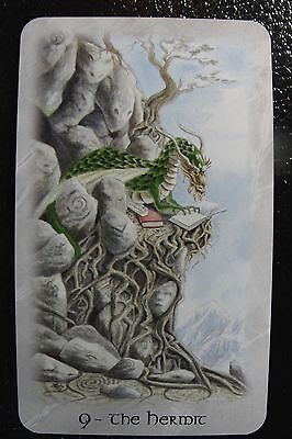 9 The Hermit The Celtic Dragon Tarot Single Replacement Card Excellent