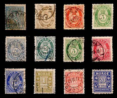 Norway: 1867-1915 Classic Era Stamp Collection