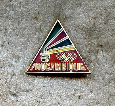 NOC Mocambique 1992 Barcelona OLYMPIC Games Pin