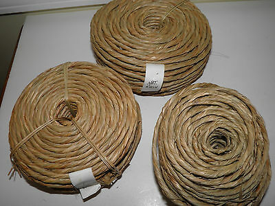 2 Pounds Plus Natural Rush - For Chair Seats - Repair Or Replace - New