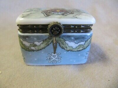 Boyd's Bears 1St Edition Trinket Box #2037 Excellent Condition