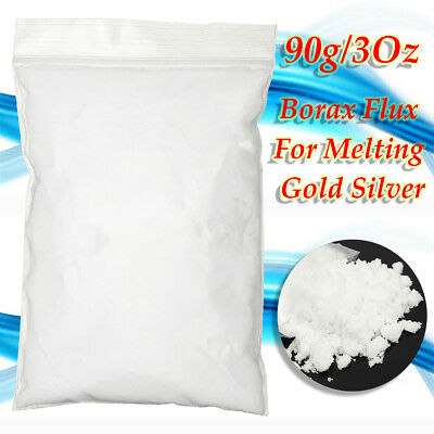 90g/3Oz Borax Flux For Melting Gold Silver Metals Jewelry Casting Crucible Melt