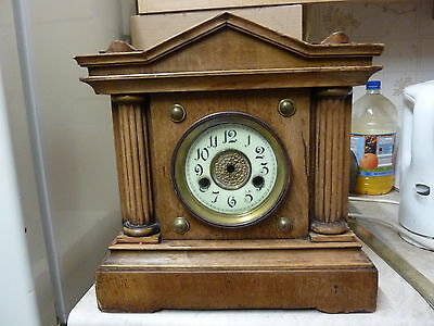ANTIQUE ? AMERICAN ? CLOCK CASE with DIAL-BEZEL
