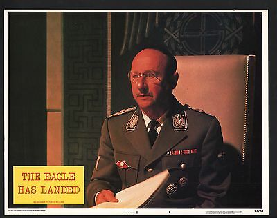Eagle has Landed Lobby Card-Michael Caine as a Colonel.