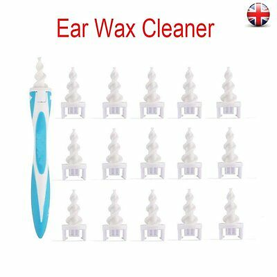 Smart Earwax Removal Soft Spiral Ear Cleaner Multifunctional Swab Easy Removers