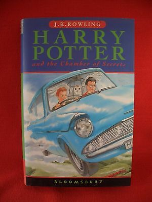 J K Rowling:harry Potter And The Chamber Of Secrets Hb Dj 1St/26Th Bloomsbury