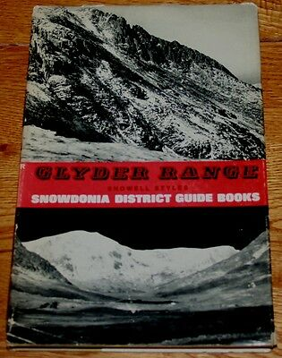 Glyder Range Snowdonia Showell Styles 1st Ed Climbing, Mountaineering Book