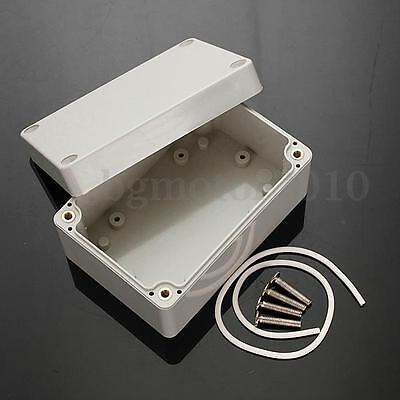 ABS PLASTIC ELECTRONICS PROJECT BOX ENCLOSURE HOBBY CASE SCREW IP65 100x68x50mm