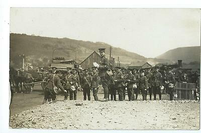 Herefordshire RP by Abery of the Herefordshire RAMC on manoevres @1910 at Builth