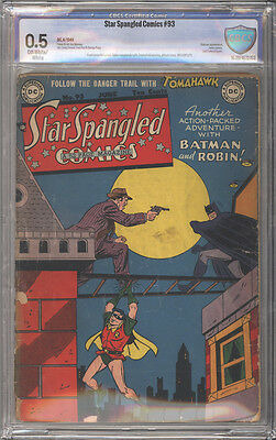 Star Spangled Comics # 93  Batman and Robin !  CBCS 0.5 scarce book !