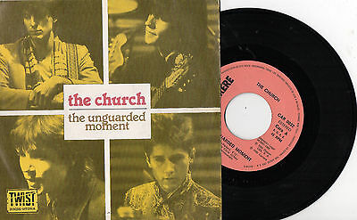 """THE CHURCH - The Unguarded Moment / Chrome Injury, SG 7"""" SPAIN 1982"""