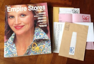 Vintage 1979 Spring/Summer Empire Stores Mail Order Clothing Catalogue