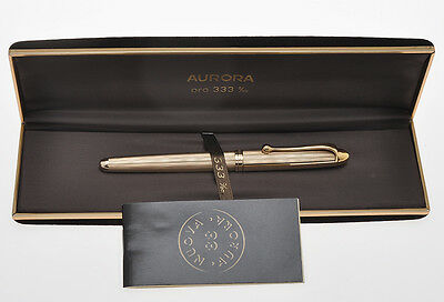 Aurora 88 Jewelry Collection solid gold fountain pen mint in box