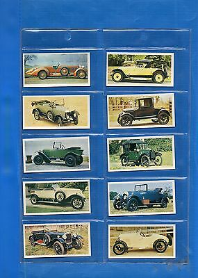 *VINTAGE CARS *Full Set 50+Empty Album-Carreras-V/G