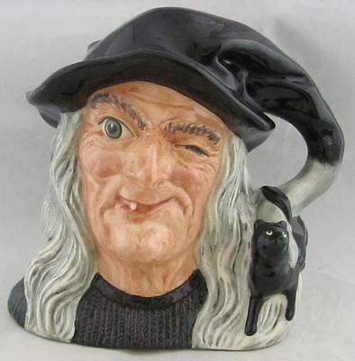 Royal Doulton Large Character Jug The Witch D6893 Retired 1991