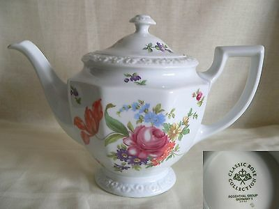 Beautiful Rosenthal Classic Rose Collection Large Teapot-Floral Decoration