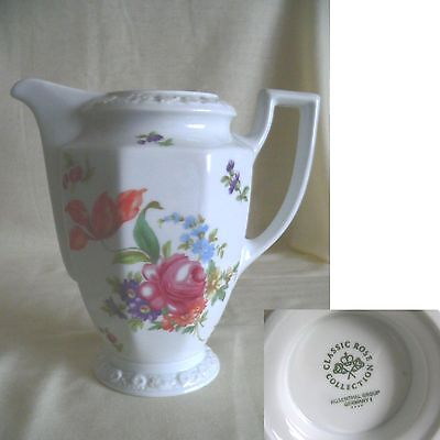 Beautiful Rosenthal Classic Rose Collection Large Floral Decorated Jug