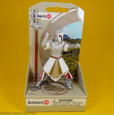 Schleich - World of History Knights Griffin Dragon Knight with Pole Arm 72038