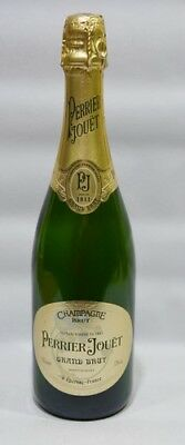 "PERRIER-JOUET CHAMPAGNE Bouteille 75 cl factice ""Grand brut"" dummy bottle schau"