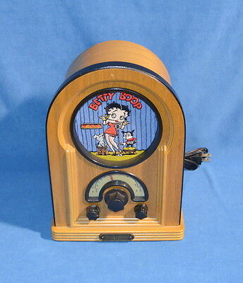 1997 Betty Boop On The Air SOHO Collector Edition Radio Cassette Player