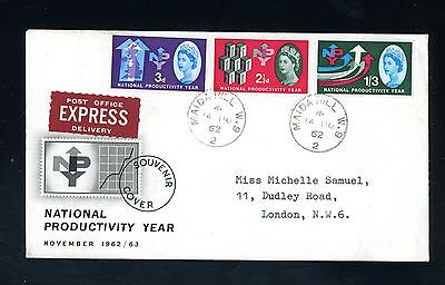 GB  1962  N.P.Y.   (ord)  Illustrated  First Day Cover   (J1061)