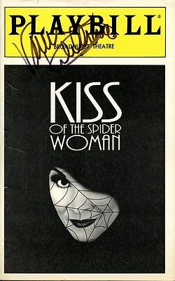 VANESSA WILLIAMS Autographed Playbill - Kiss Of The Spider Woman