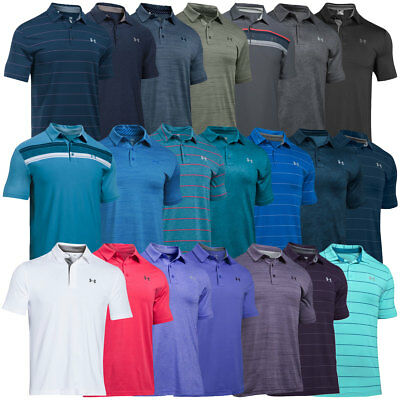 Under Armour 2017 Mens UA Playoff Polo Shirt Golf Performance Short Sleeve