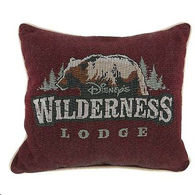 Disney World Wilderness Lodge Pillow, NEW