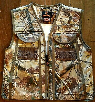 Youth Hunting Camo Vest Game Winner M/l