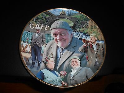 Danbury Mint Last Of The Summer Wine Plate, Compo