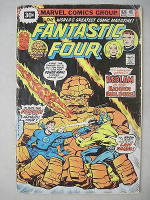 Fantastic Four #169 (30 Cent Price Variant) Marvel Comics 1976 Power Man Thing
