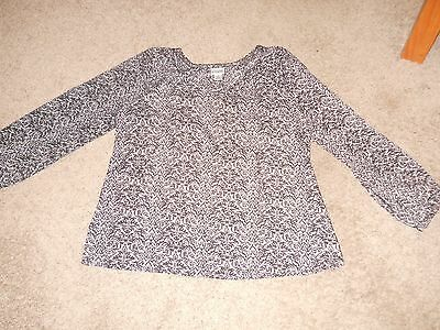 Motherhood Maternity Top/Blouse - Size Large