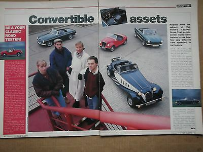 Mg Mgc-Panther Lima-Fiat 500 Gamine-Fiat 124 Spider - Group Test