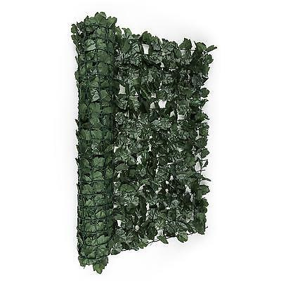 Wind Screen Privacy Garden Fencing Green Terrace Roll Out Leaves 300 X 150 Cm