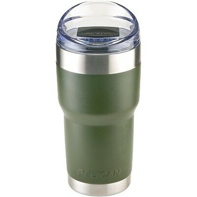 Pelican Products TRAV-SD22-OD Traveler 22 oz. Tumbler OD Green w/Slide Lid