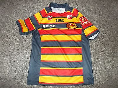 Catalans Dragons Rugby League Shirt - Isc, Gl Events