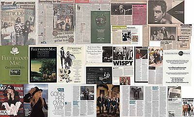FLEETWOOD MAC : CUTTINGS COLLECTION -adverts interviews-