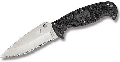 "Spyderco FB24SBK2 Jumpmaster 2 Fixed Knife w/4.5"" Blade"