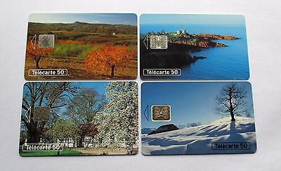 4 Seasons   /  1994 Used  French Phonecards