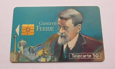 Gustave Ferrie  / 1993 Used French Phonecard