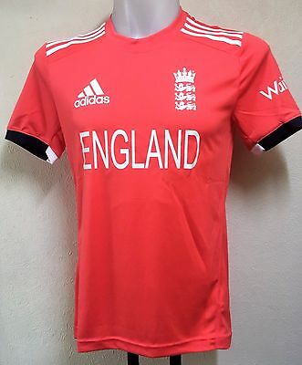 England Cricket S/s T20 Shirt By Adidas Size Adults Xl Brand New With Tags