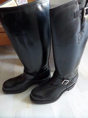 Autenticas Botas Chippewa Made In Usa, Nuevas Talla 45,piel Color Negro