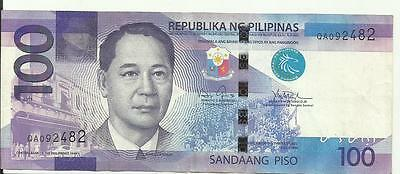 PHILIPPINES 100 Piso Banknote