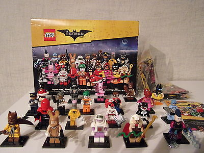 Lego Minifiguren 71017 The Lego Batman Movie - Alle 20 Figuren + Kiste - Neu