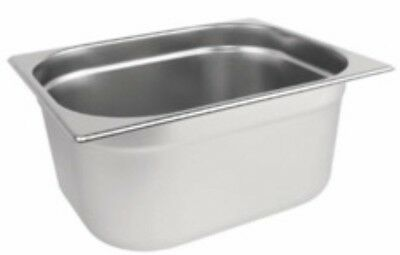 Used Gastronorm Container Stainless Steel 1/2 pan 150mm deep 9L