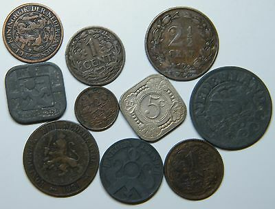 WCA Netherlands Coins 1881 - 1942 Lot # S20