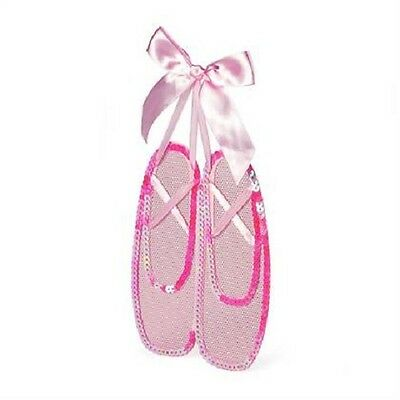 Claire's Girl's Pink Ballet Slippers Hanging Jewelry Holder NWT
