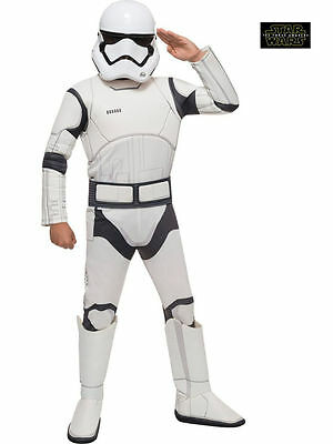 STAR WARS STORMTROOPER EPISODEVII CHILD COSTUME Halloween Cosplay Fancy Dress B5