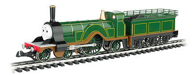 Bachmann G Scale EMILY The Green Engine 91404 Thomas & Friends With Moving Eyes