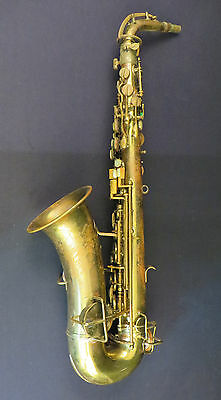 1920's York & Sons Low Pitch Alto Saxophone Project